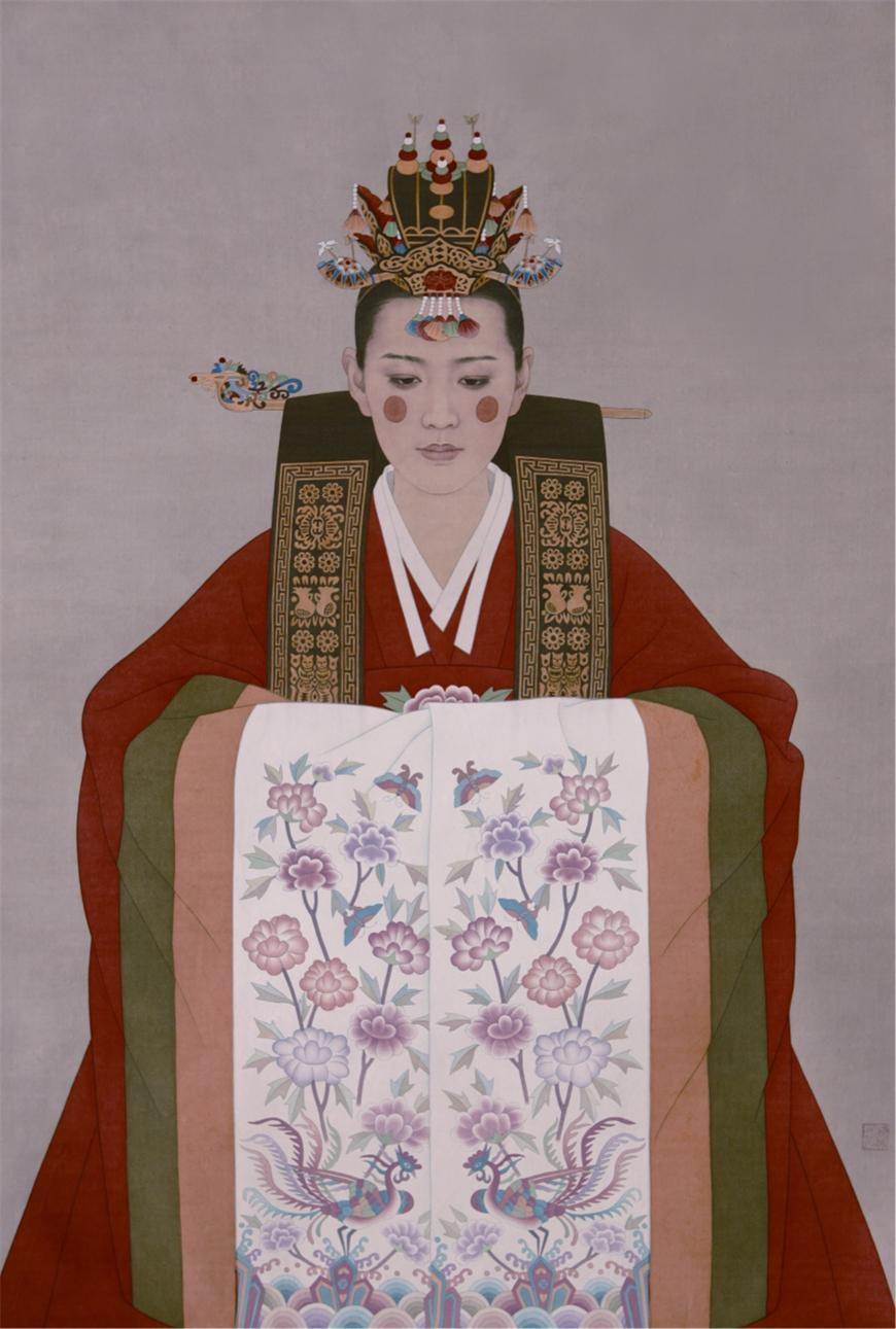 朝鲜族新娘_精品展示天迈艺术网